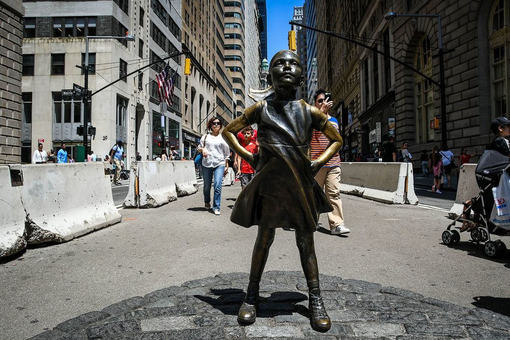 Things to Do in New York City Fearless Girl