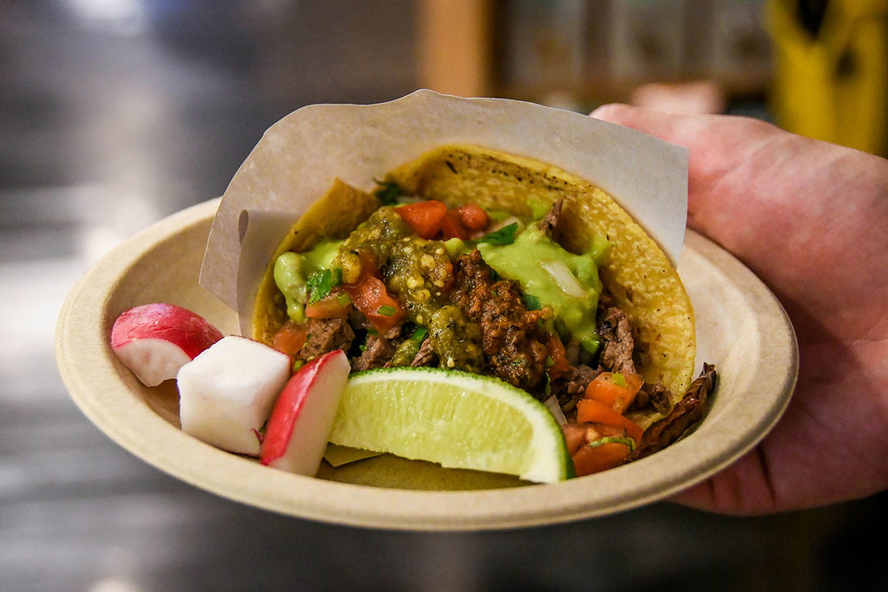 Things to Do in New York City Chelsea Market Street Tacos
