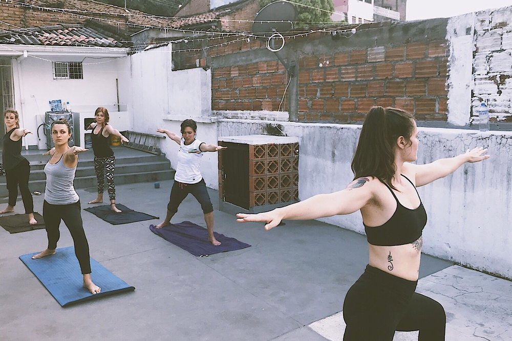 Cali Colombia Yoga Class in Spanish