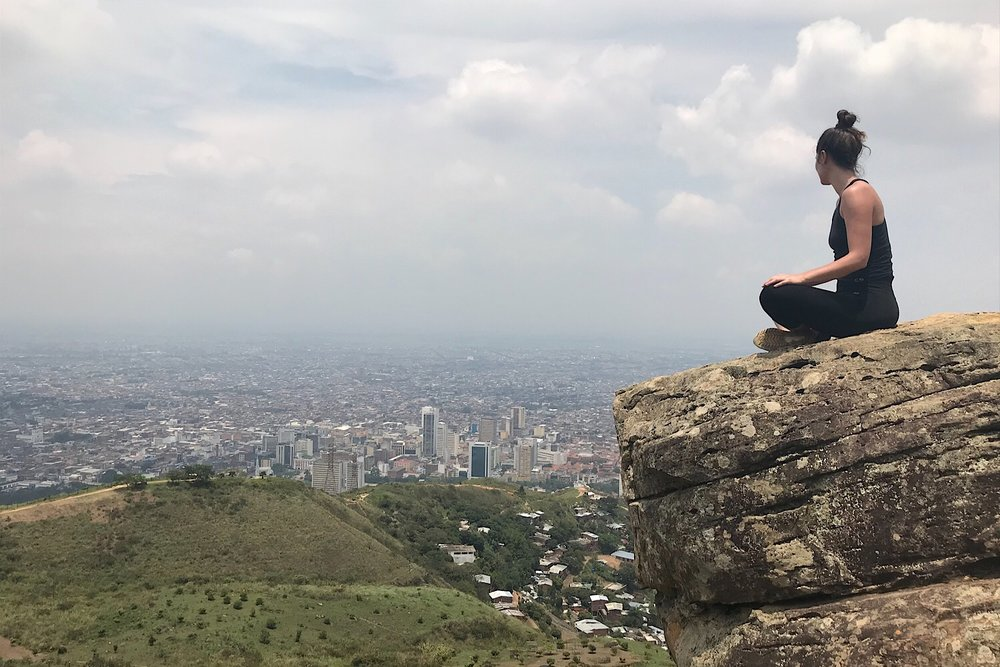 Cali Colombia Cerro de las Tres Cruz Hiking