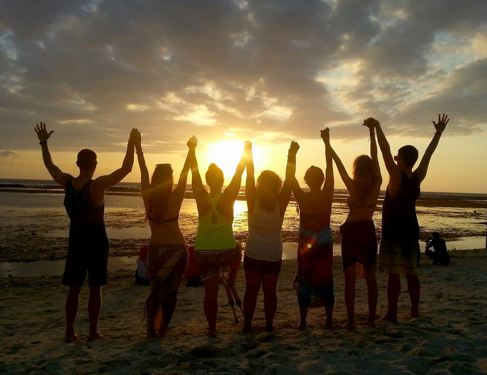 Teaching English Abroad Reason Why Sunset and Friends