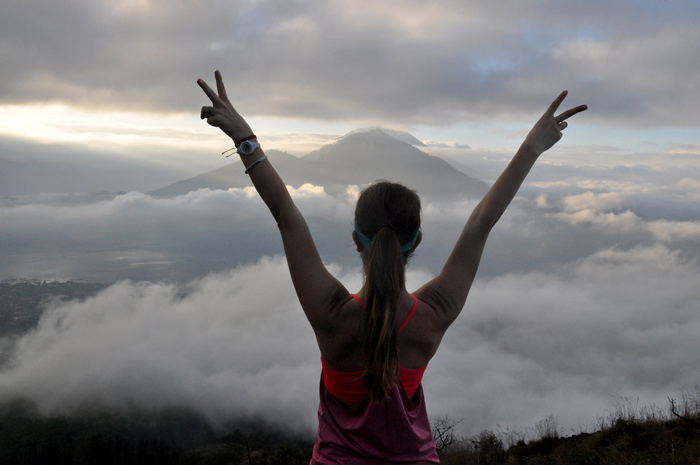 Teaching English Abroad Mount Batur Hike