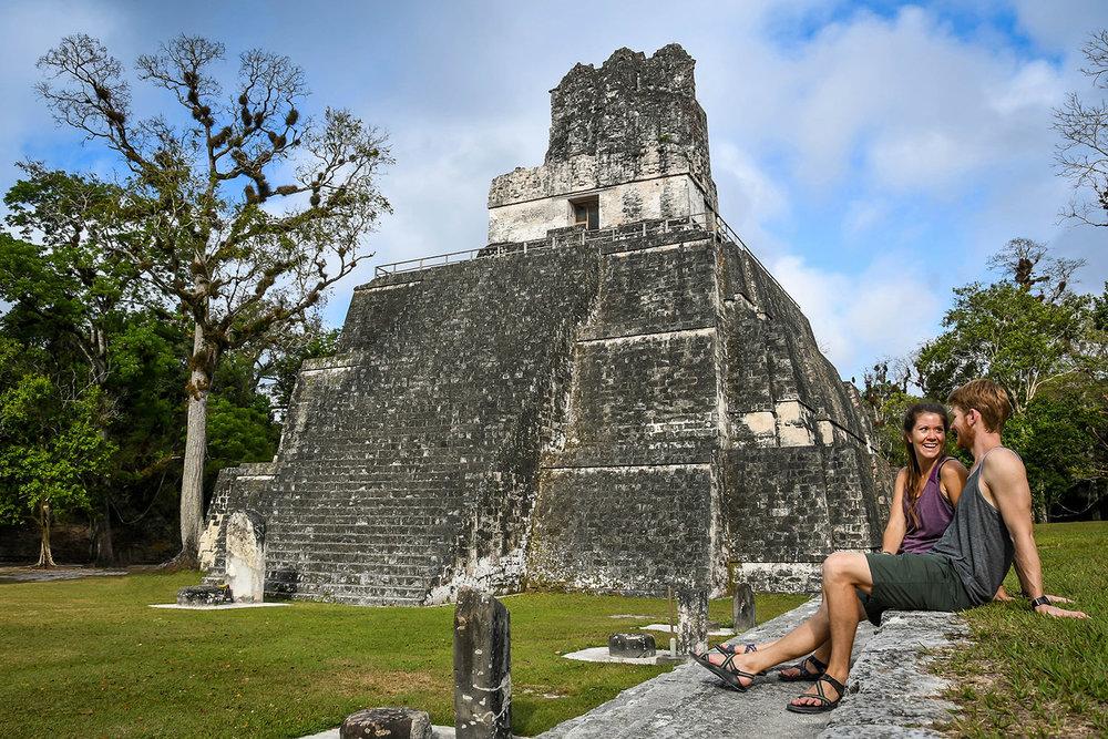 Visit Tikal Guatemala Ruins