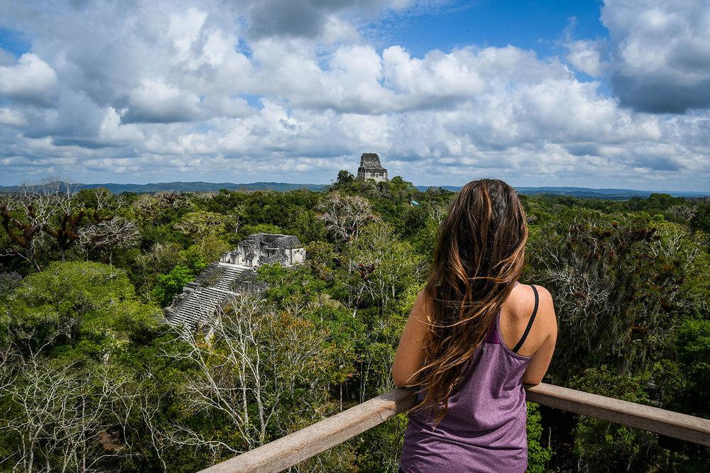 Visit Tikal Guatemala Viewpoint