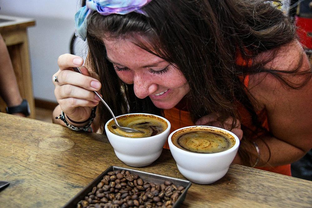 Coffee Tour Honduras Quality Test Coffee