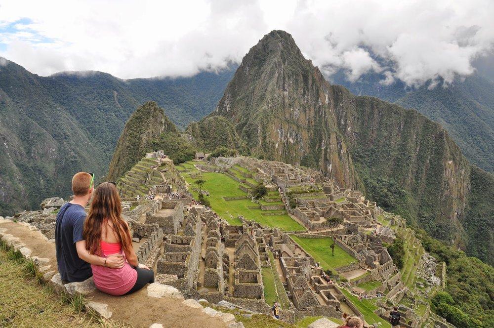Machu Picchu Inca Trail Katie and Ben