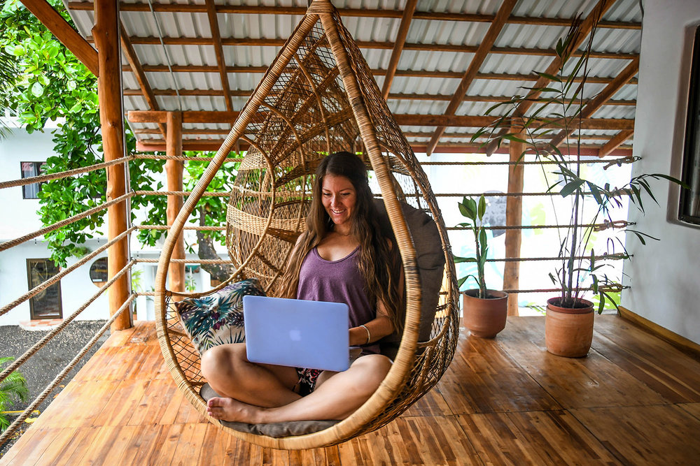 Working Remotely Online Blogging