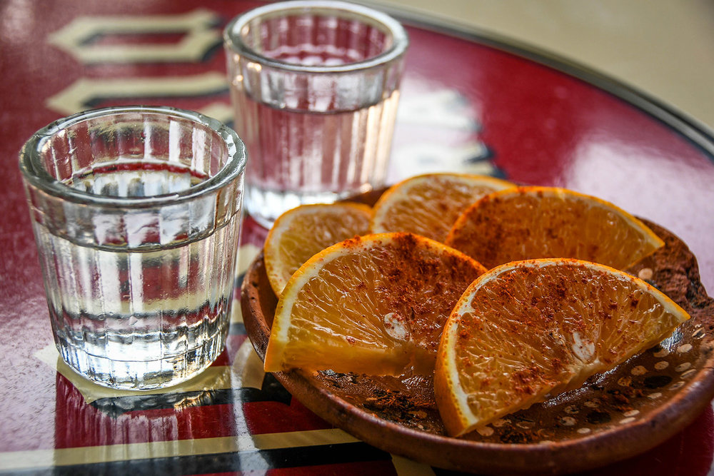 Things to Do in Mexico Mezcal and Orange