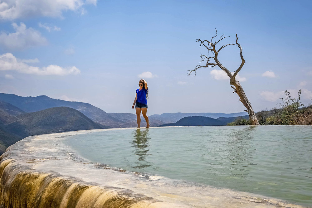 Things to Do in Mexico Hierve el Agua
