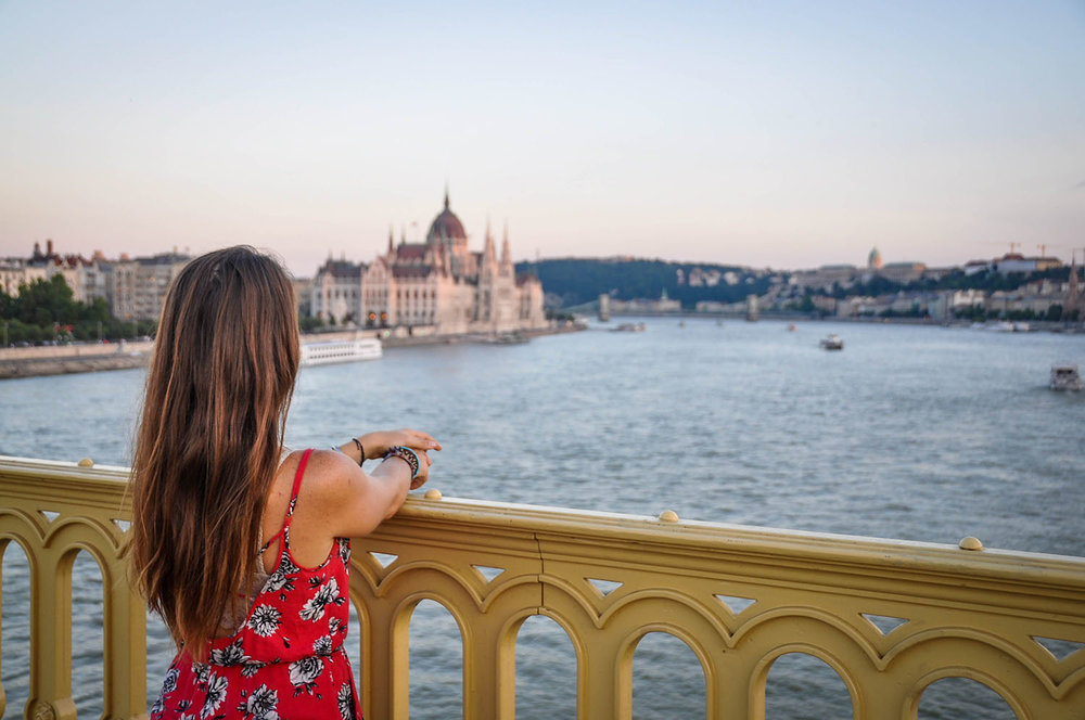 Travel Safety Tips Budapest Bridge