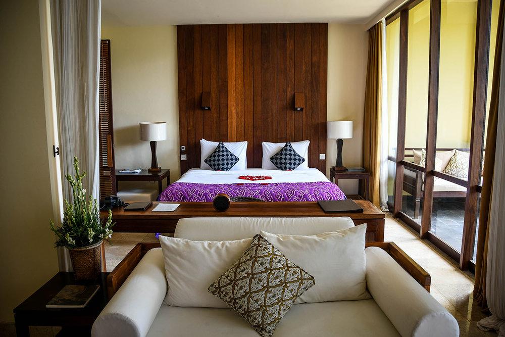 Komaneka at Bisma Ubud Resort Suite Bedroom
