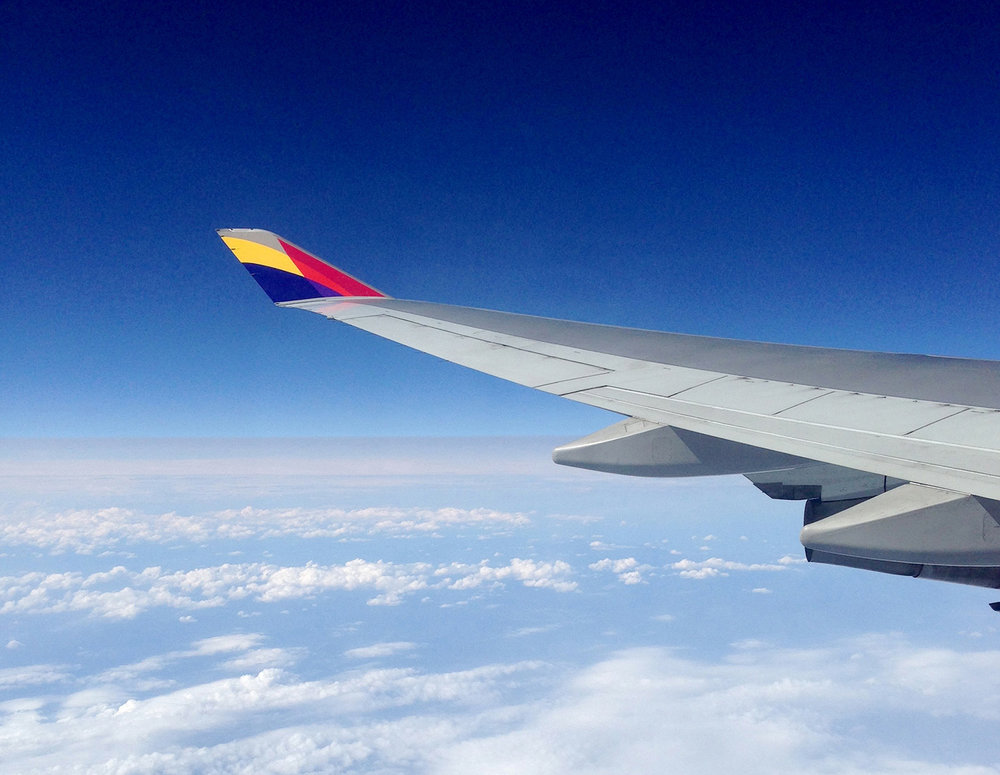 How We Afford to Travel Airplane Wing