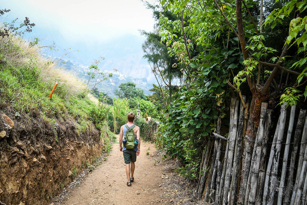 How We Afford to Travel Hiking Path