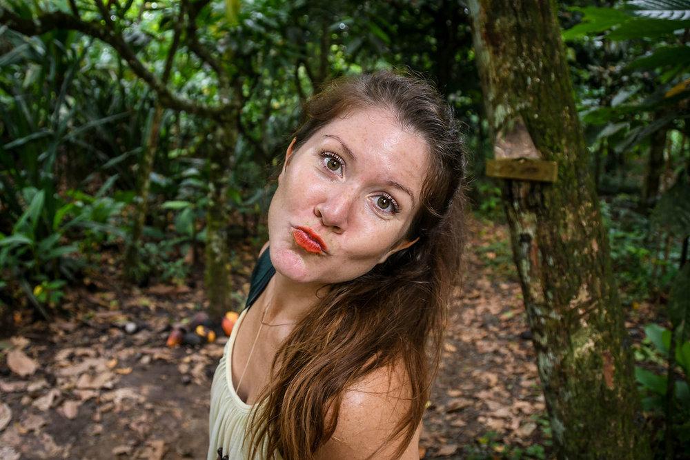 Bri Bri Indigenous Village Tour Natural Lipstick