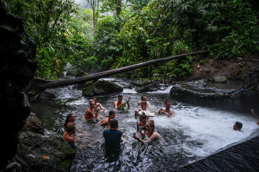 Things to Do in Costa Rica Natural Hot Springs