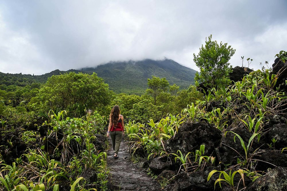Things to Do in Costa Rica: Hiking on Arenal Volcano