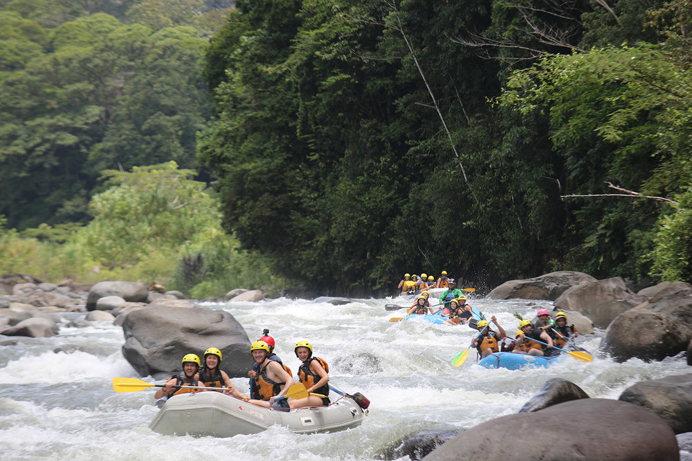 Things to Do in Costa Rica Whitewater Rafting