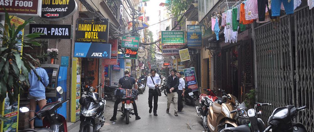 Vietnam Travel Guide: Hanoi Street