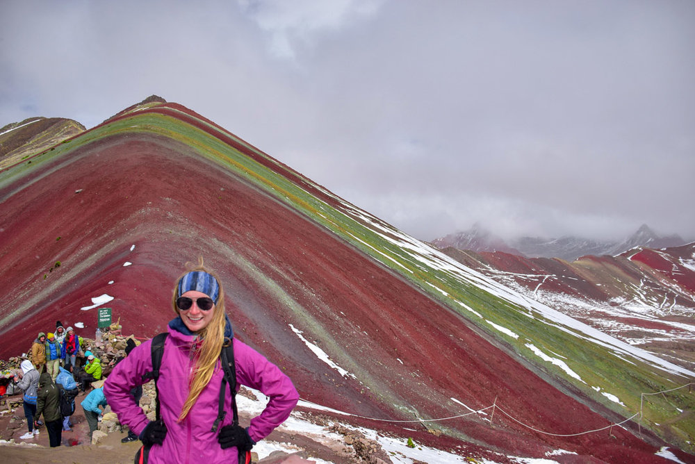Things to Do in Peru: Hiking Rainbow Mountain