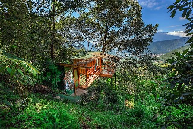 Earth Lodge View - Credit: Earth Lodge