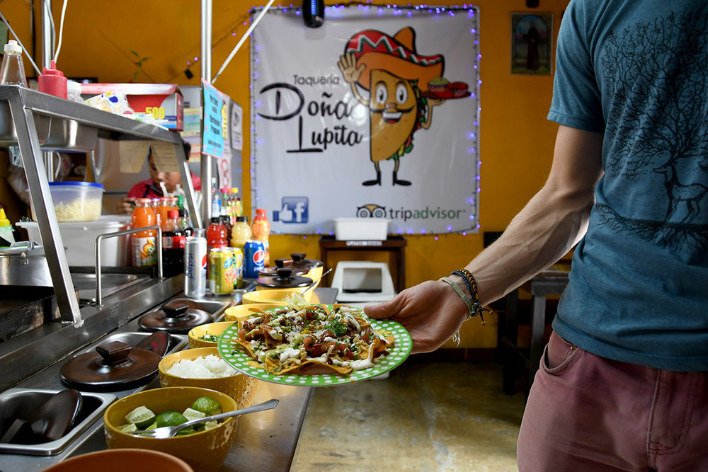 Things to Do in Antigua Guatemala: Taqueria Dona Lupita