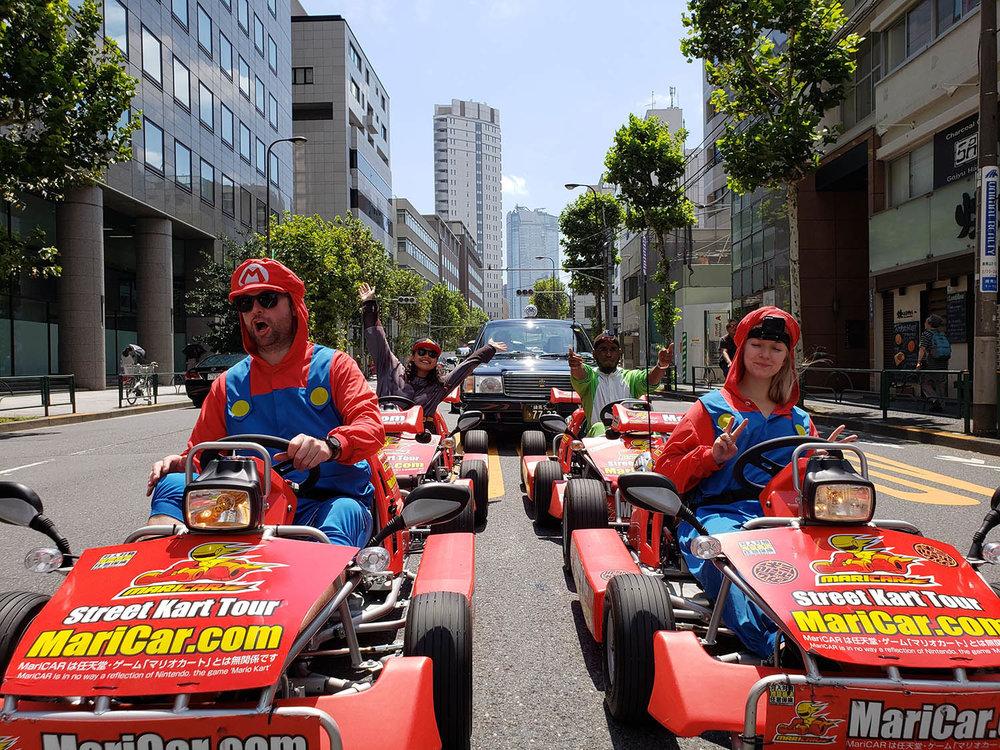Things to do in Tokyo Mario Kart