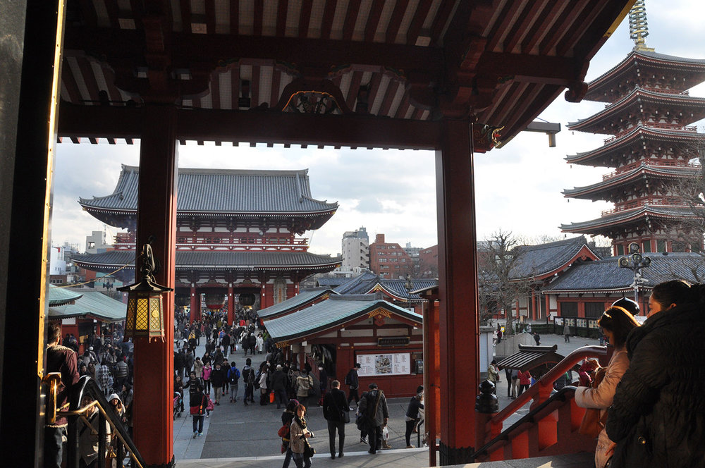 Things to do in Tokyo Senso-ji Temple
