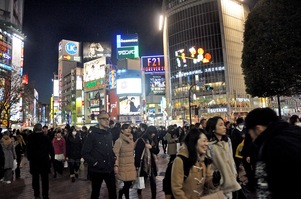 Things to do in Tokyo Shibuya Crossing