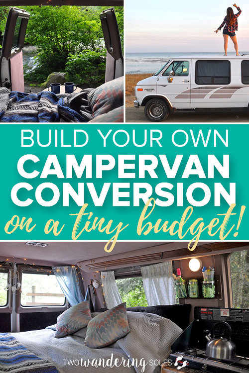 da8ad30811 DIY Campervan Conversion on a Tiny Budget in Less Than 1 Week