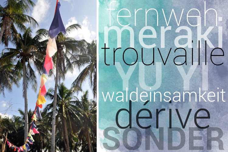 14 Awesome Travel Words Youve Never Heard Two Wandering Soles