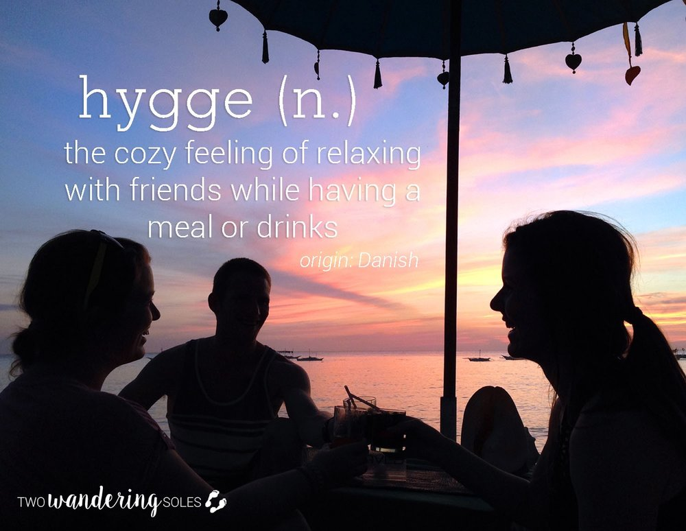 Hygge Awesome Travel Words