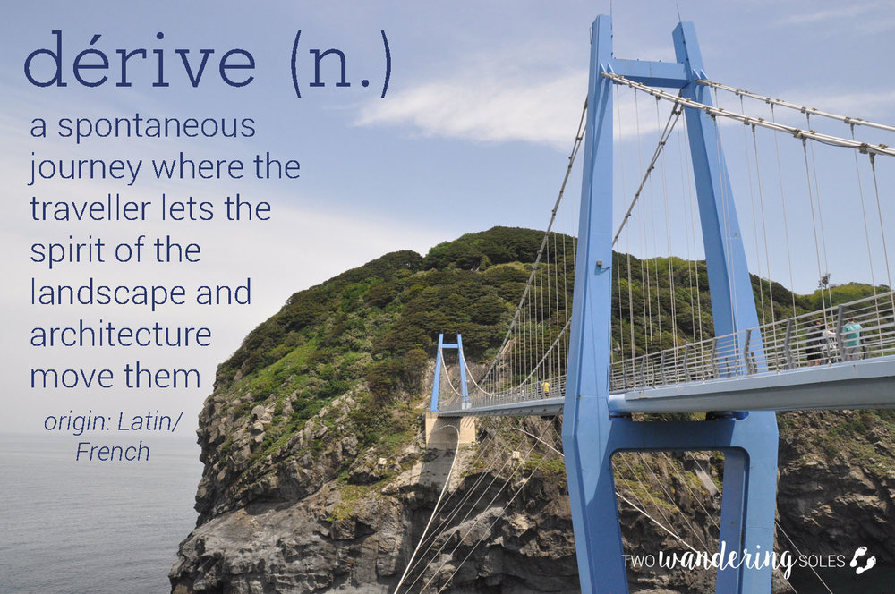 Derive Awesome Travel Words