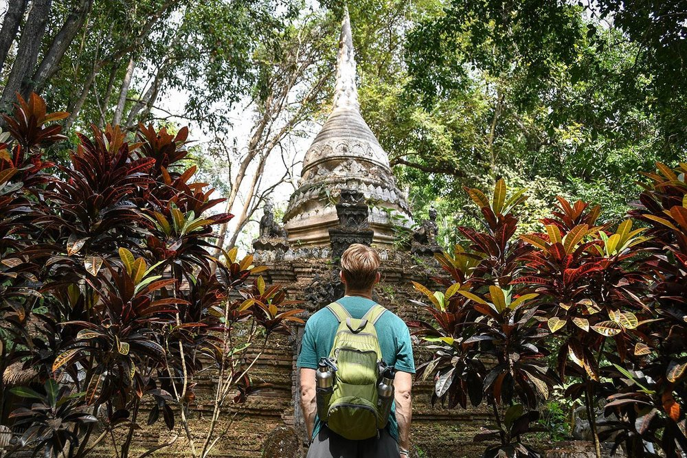 Unique things to do in Chiang Mai Thailand Wat Pha Lat Temple
