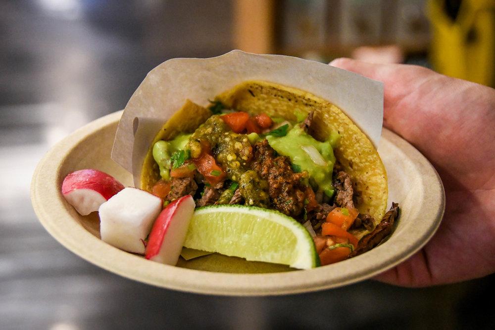 New York City on a Budget Los Tacos No. 1
