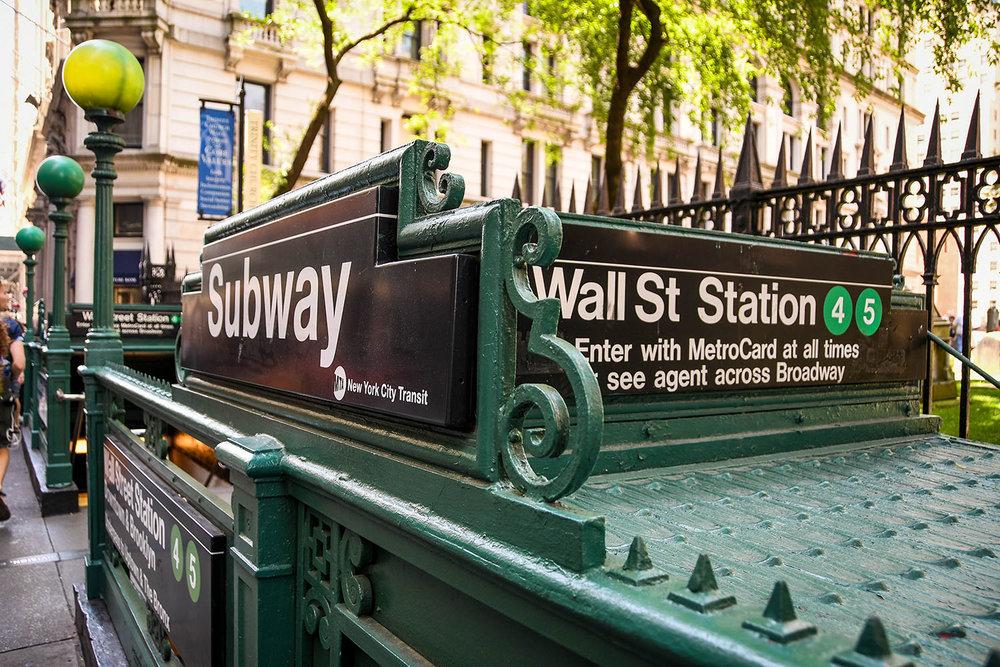 New York City on a budget subway