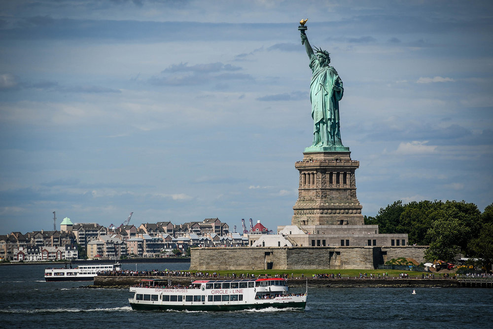 New York City budget Statue of Liberty