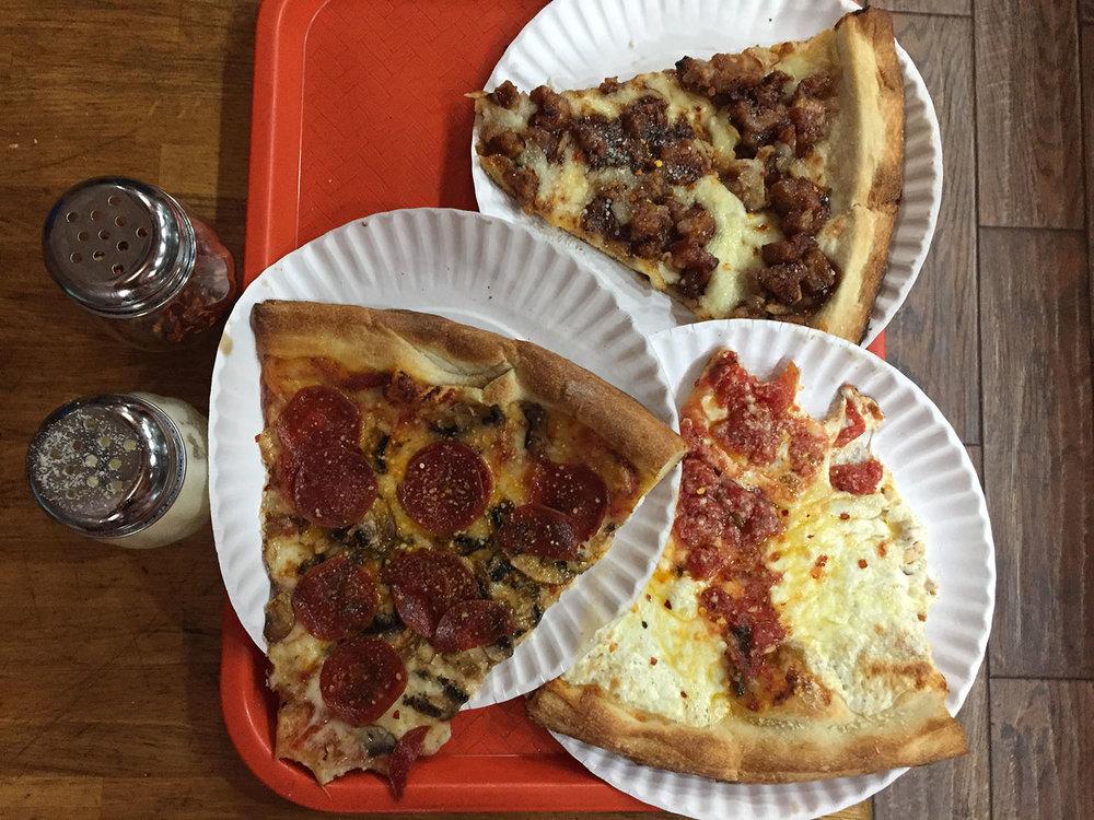 New York City budget Pizza