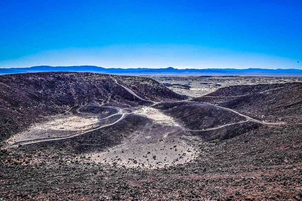 Best Desert Hikes in California: Amboy Crater Trail Credit: We Who Roam