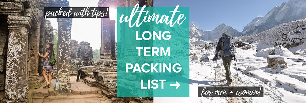 Ultimate Packing List For Travelers