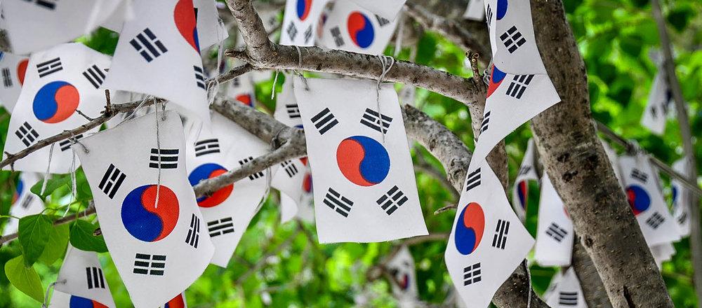 South Korea Travel Guide: Korean Flags
