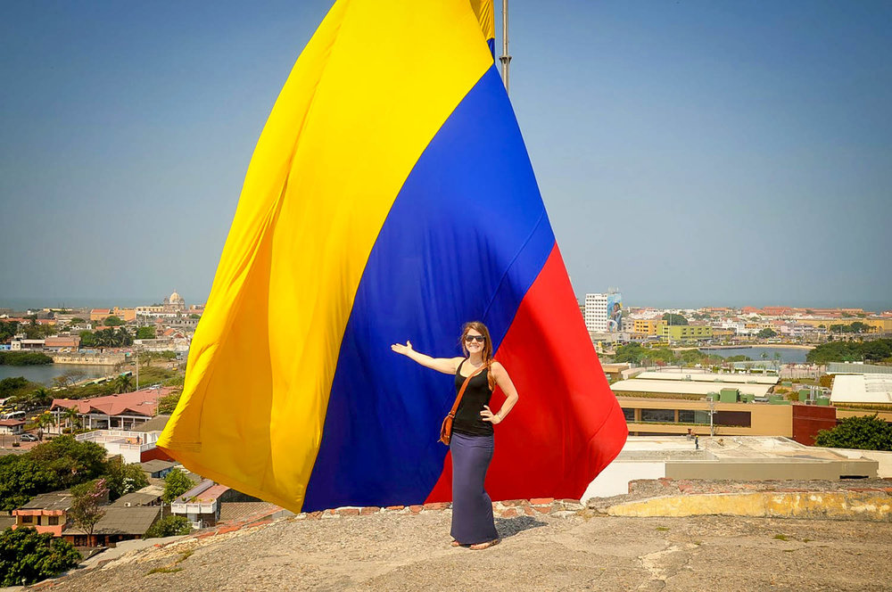 Things to do in Cartagena Colombia Flag