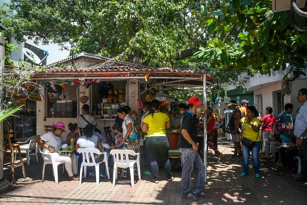 Things to do in Cartagena fresh juice