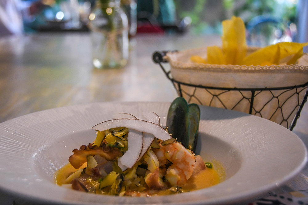Things to do in Cartagena ceviche