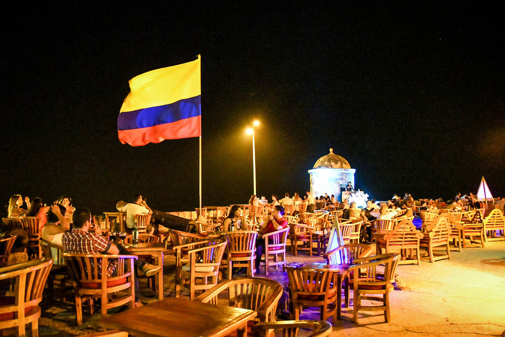 Things to do in Cartagena Drinks Cafe del Mar