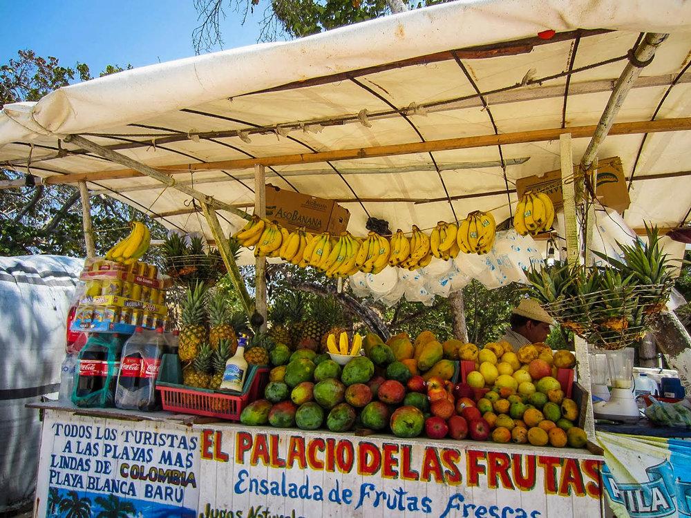 Playa Blanca Rosario Islands Cartagena