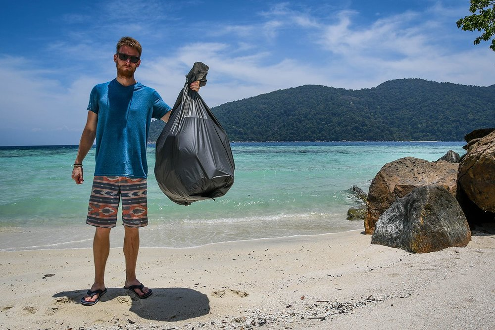 Things to Do in Koh Lipe Thailand Island Trash Hero Beach Clean up