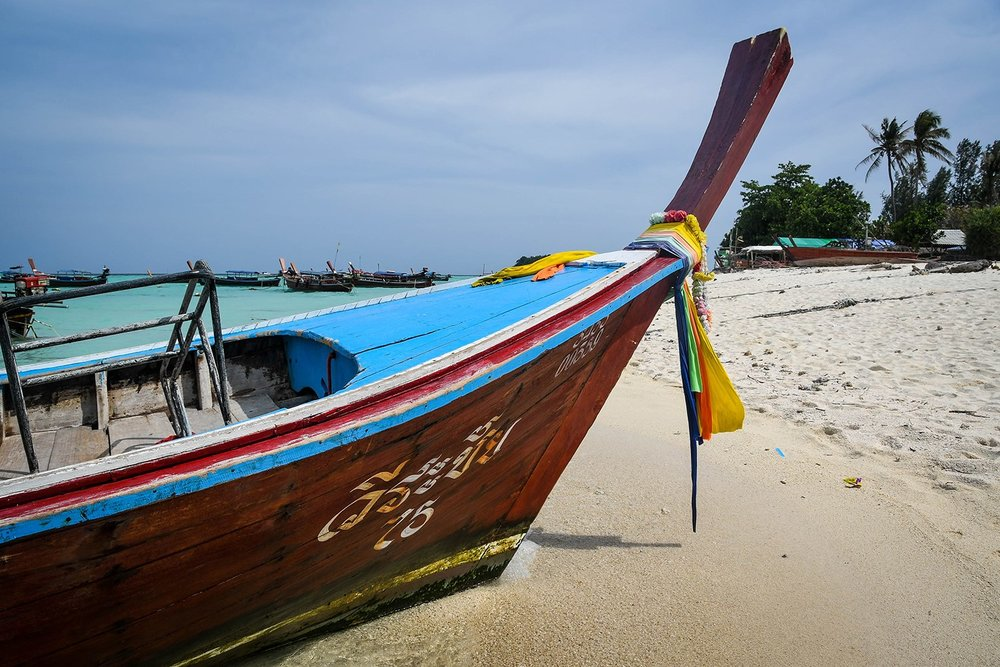 Things to Do in Koh Lipe Thailand Island Long Tail Thai Boat