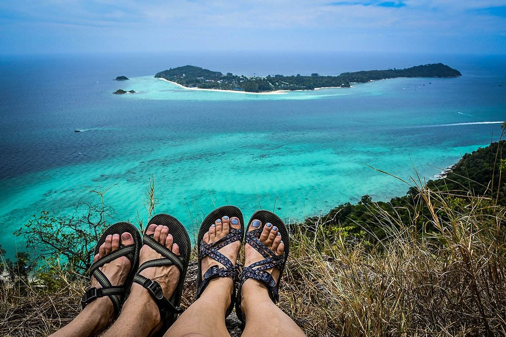 Things to Do in Koh Lipe Thailand Island Viewpoint Hike #3 Chacos