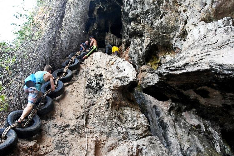 Things to do in Koh Lanta Caving and Kayak tour