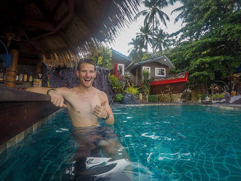 Things to do in Koh Lanta Thailand Pirate Paradise Pool Party